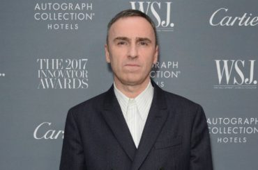 RAF Simons leaves the post of creative Director of Calvin Klein