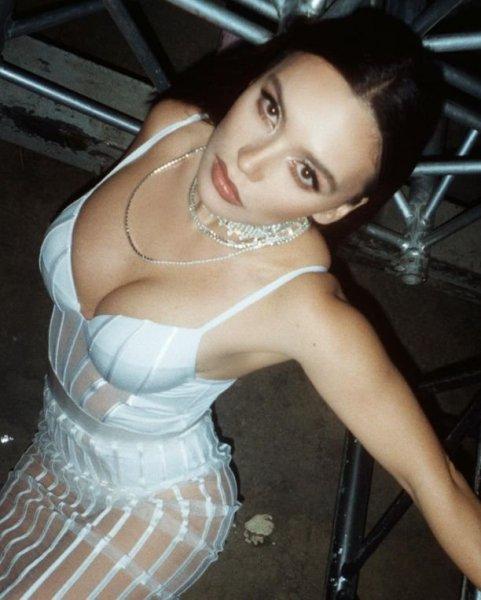 Ольга Серябкина пришла на мероприятие в развратном прозрачном платье