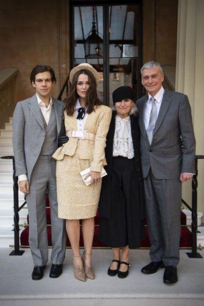 Кира Найтли получила Орден Британской империи