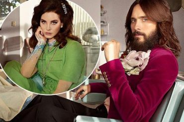 Lana Del Rey, Jared Leto and Courtney Love starred in a commercial for the fragrance Gucci Guilty