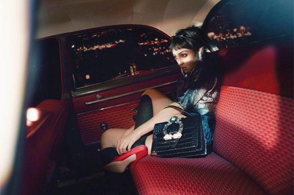 Странница в ночи: дочь Мадонны Лурдес Леон стала лицом кампании Miu Miu