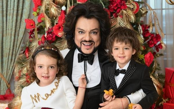 Bedros Kirkorov: the wife. Personal life