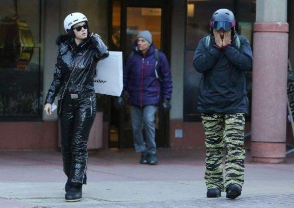 Кети Перри и Орландо Блума целовались на улице, не стесняясь папарацци