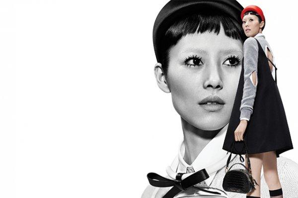 Джиджи Хадид сменила имидж для съемок в новой кампании Prada