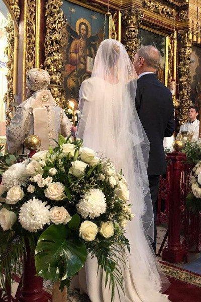 Спустя 20 лет брака Юлия Высоцкая и Андрей Кончаловский решили обвенчаться
