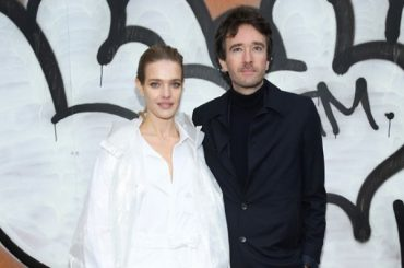 Natalia Vodianova, Antoine Arnault, Timothy Salama and others at the Louis Vuitton show in Paris