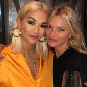 Kate moss in bed with Rita Ora