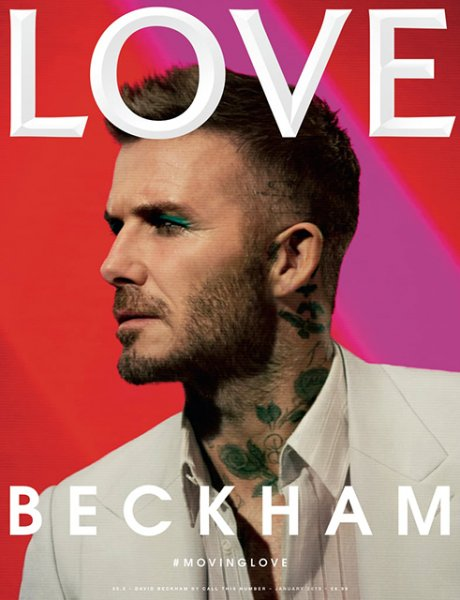 Бьюти-дайджест: от накрашенного Дэвида Бекхэма до коллекции Lush ко Дню святого Валентина