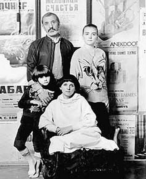 The wife and children of Victor Merezhko. Personal life