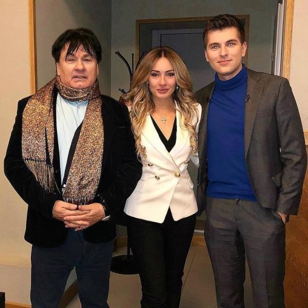 Dmitry Borisov and Michelle Serova