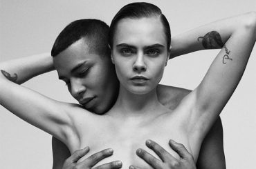 Cara Delevingne and Olivier Rusten repeated legendary the c Janet Jackson