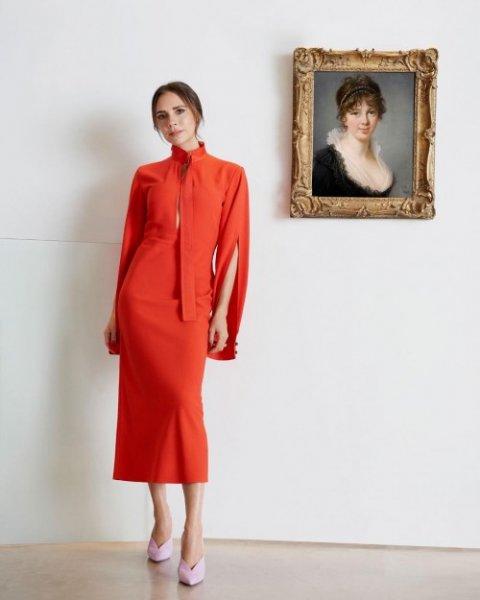 Виктория Бекхэм о выходе Меган Маркл в наряде ее производства
