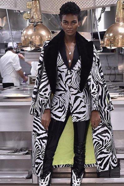 Неделя моды в Нью-Йорке: Пэрис Хилтон, Микки Рурк и другие на показе Philipp Plein сезона осень-зима 2019/2020