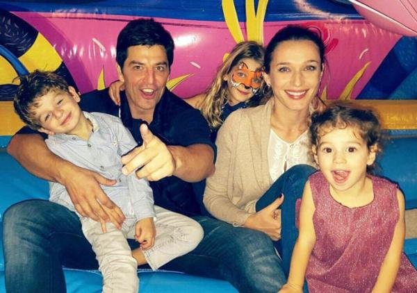 Sakis Rouvas: the wife and children. Personal life