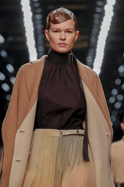 Неделя моды в Милане: сестры Хадид и Кайя Гербер на показе Fendi в память о Карле Лагерфельде
