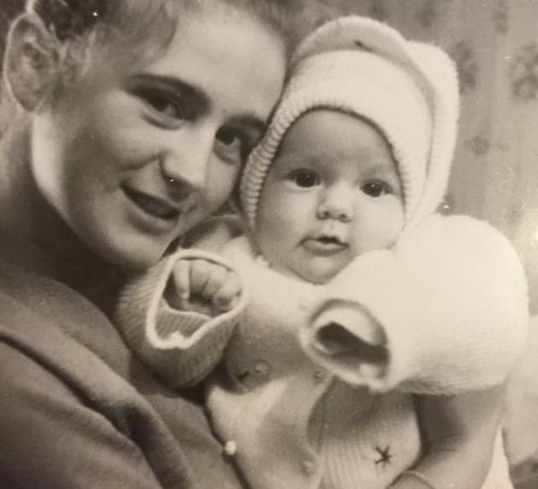 Julia Baranovskaya: his mother Tatiana Bratceva