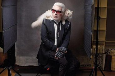 Supect orphaned: netizens condole with his beloved cat Karl Lagerfeld