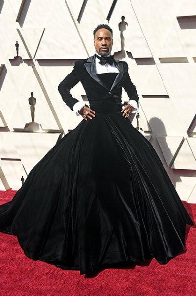"""Билли Портер объяснил, почему появился на """"Оскаре"""" в смокинге и платье"""