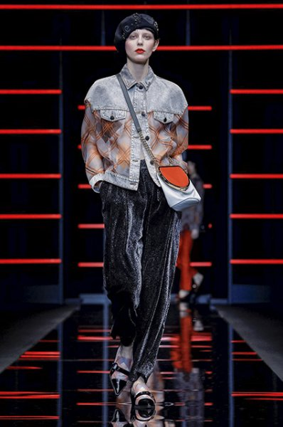Неделя моды в Милане: Кара Делевинь, Джиджи Хадид и Джорджия Мэй Джаггер на показах Prada и Emporio Armani