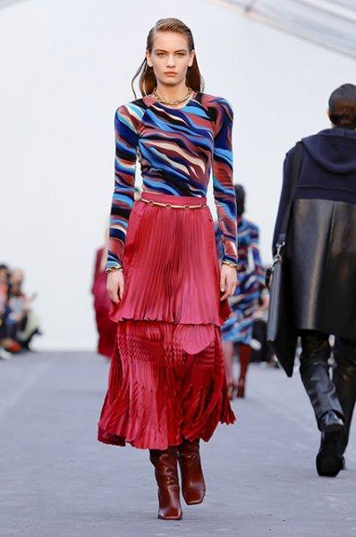 Неделя моды в Милане: Белла Хадид, Ева Герцигова и Джорджина Родригес на показе Roberto Cavalli сезона осень-зима 2019/2020