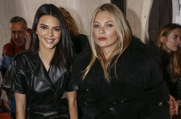 Fashion week in new York: Kendall Jenner, Kate moss and Kaia Gerber on the display of the Longchamp autumn/winter 2019/2020