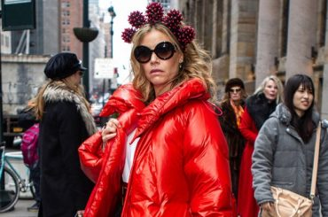 Fashion week in new York: street style