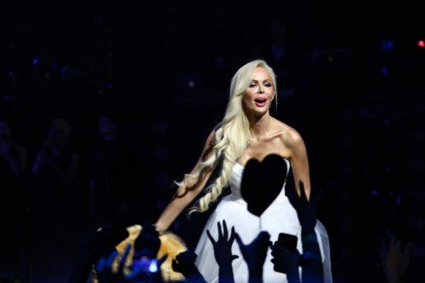 Дима Билан и Алиса Лобанова устроила грандиозное шоу в Москве