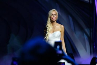 Dima Bilan and Alisa Lobanova staged a Grand show in Moscow