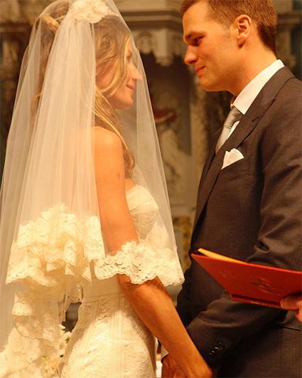 Редкие фото: Жизель Бундхен и Том Брэди отметили 10 лет со дня свадьбы