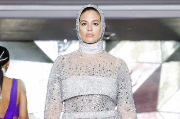 Fashion week in new York: Ashley Graham on the show, Christian Siriano autumn/winter 2019/2020