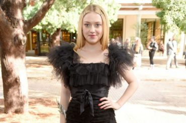 Dakota fanning, Shailene Woodley, Diane Keaton and others at the Rodarte show in California