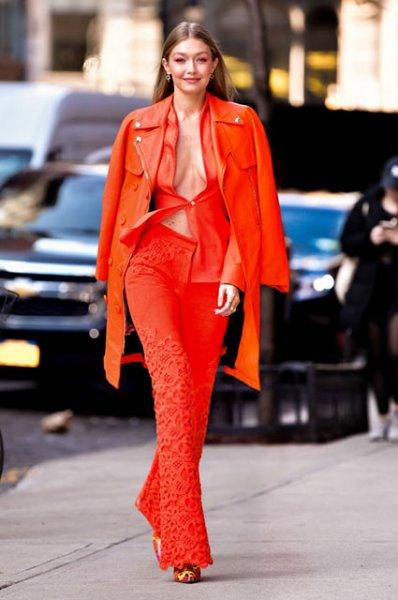 Модный дайджест: от стремительной Беллы Хадид до модных памперсов