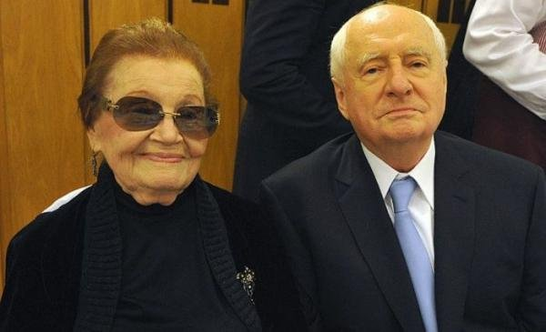 Mark Zakharov: wife Nina. Personal life