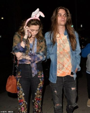 Paris Jackson supported his godfather Macaulay Culkin on the set of his show