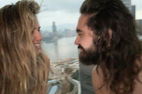 Хайди Клум и Том Каулитц отдыхают в Гонконге