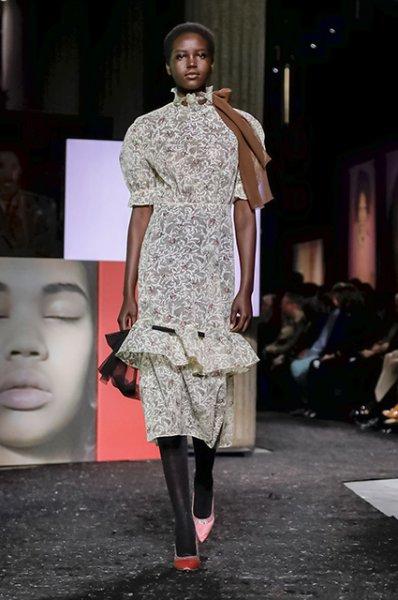 Неделя моды в Париже: Гвендолин Кристи, Эль Фаннинг, Маша Федорова и другие на показе Miu Miu осень-зима 2019/2020