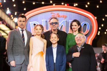 "In London hosted the gala premiere of the movie ""Dumbo"": Eva green, Colin Farrell and other stars at the gala track"