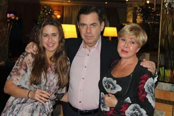 What happened to the daughter of Lyubov Uspenskaya