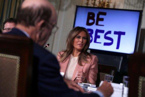 Мелания Трамп о молодежной программе «Будь лучшим»