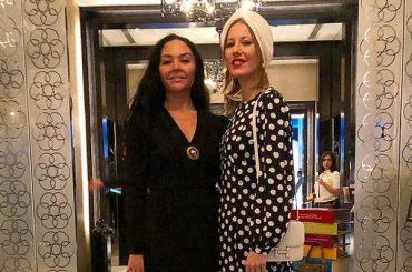 Ksenia Sobchak, Ulyana Sergeenko and Miranda Mirianashvili are traveling to Qatar