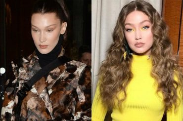 Bella and Gigi Hadid, Naomi Campbell and others at the party, editor of British Vogue