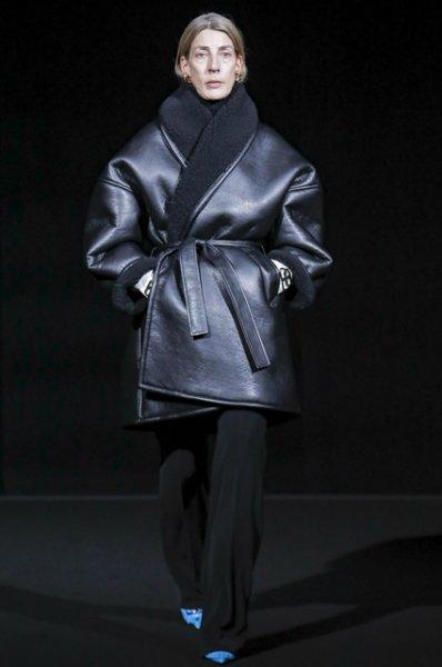 Неделя моды в Париже: Рената Литвинова с дочерью и Хейли Болдуин на показе Balenciaga осень-зима 2019/2020