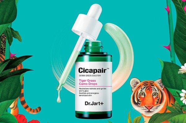 Wanted: восстанавливающая сыворотка и маска Cicapair, Dr.Jart+