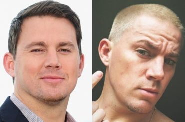 Channing Tatum shaved and became a platinum blond