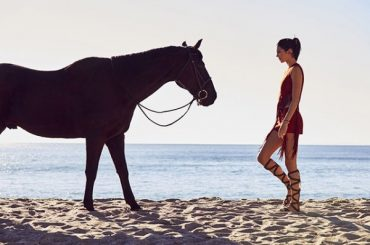 Fashion digest: from Kendall Jenner on a horse to campaign to protect women from violence