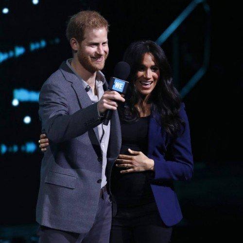 Меган Маркл и принц Гарри посетили WE Day UK