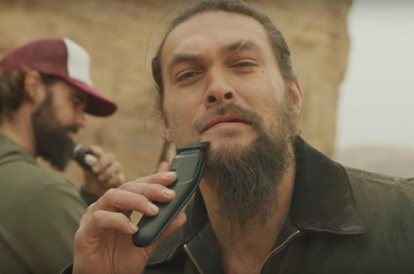 Кхал Дрого, прощай: Джейсон Момоа впервые за семь лет сбрил бороду