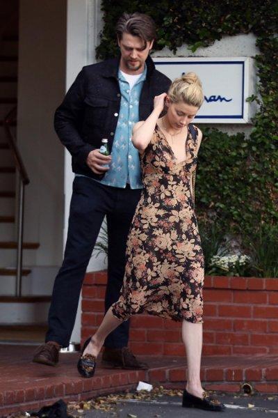 Эмбер Херд и Энди Мускетти на свидании в Лос-Анджелесе