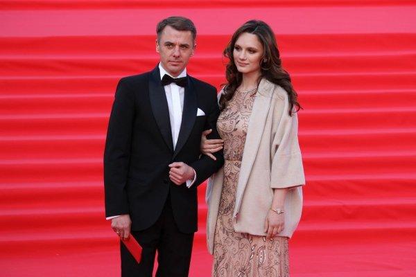 Игорь Петренко и Кристина Бродская на открытии «ММКФ-2019»