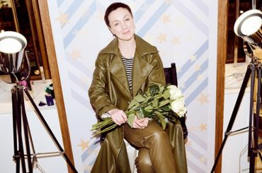 Fashion digest: Darya Moroz at the opening of the boutique the Suite of Zhostovo